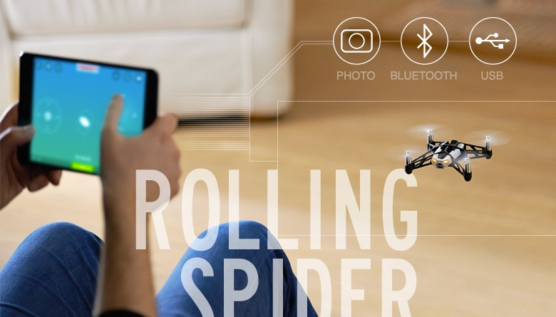 Drone Rolling Spider